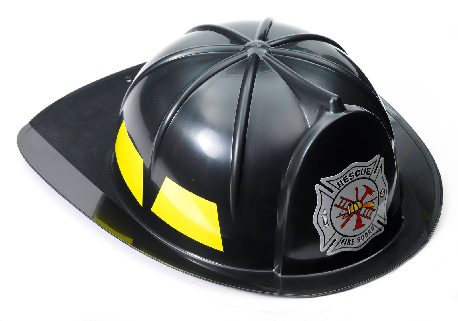 Black Fireman Hat (Adult)