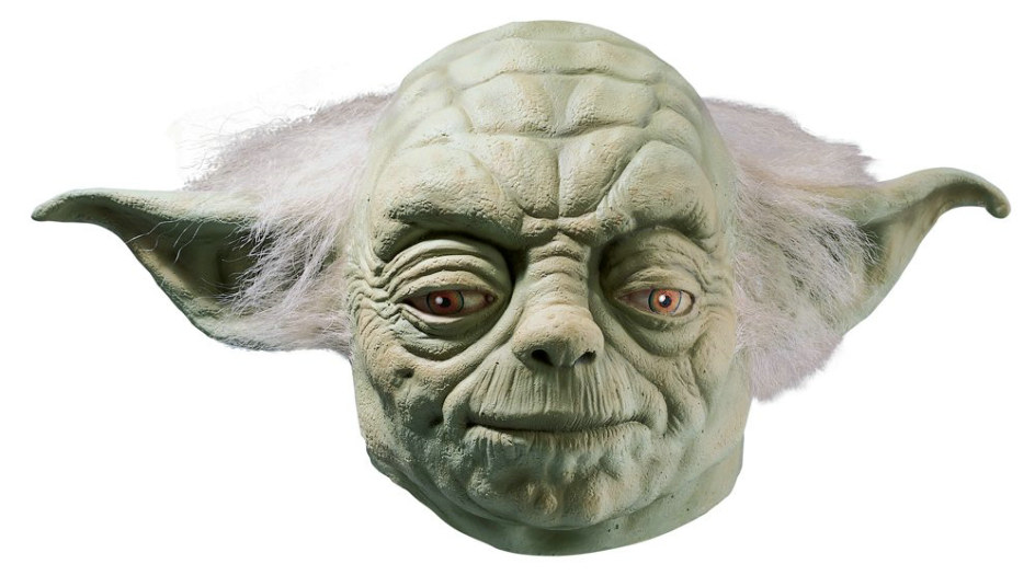 Star Wars Yoda Deluxe Full Mask