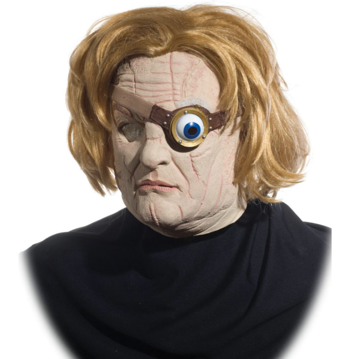 Harry Potter Mad Eye Moody Deluxe Mask