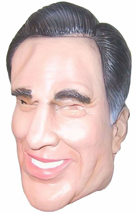 Mitt Romney Adult Mask 2008