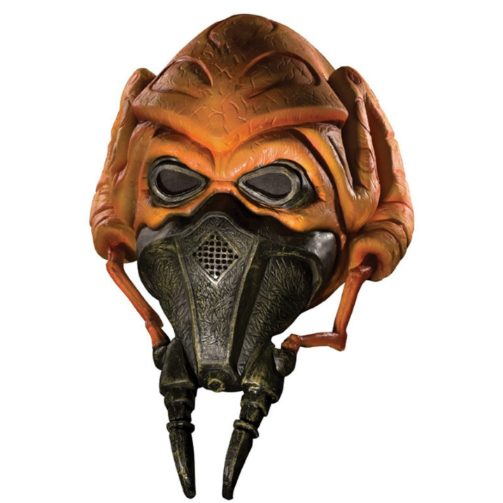 Star Wars Clone Wars 3/4 Vinyl Plo Koon Mask-Child
