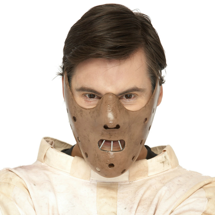 Hannibal Lector Half Face Mask
