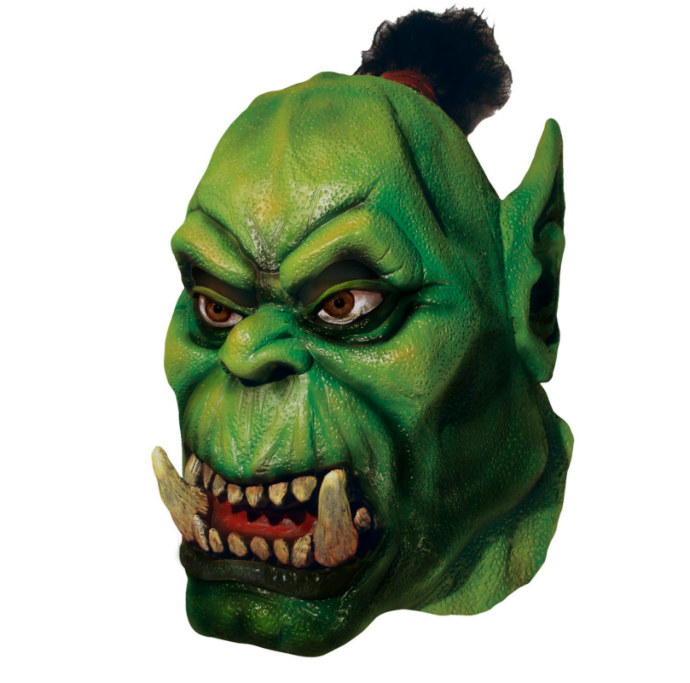 World of Warcraft - Orc Overhead Latex Mask