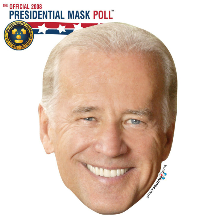 Joe Biden Paper Mask
