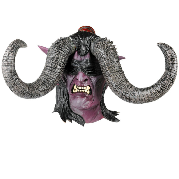 World of Warcraft lllidan Deluxe Latex Mask Adult
