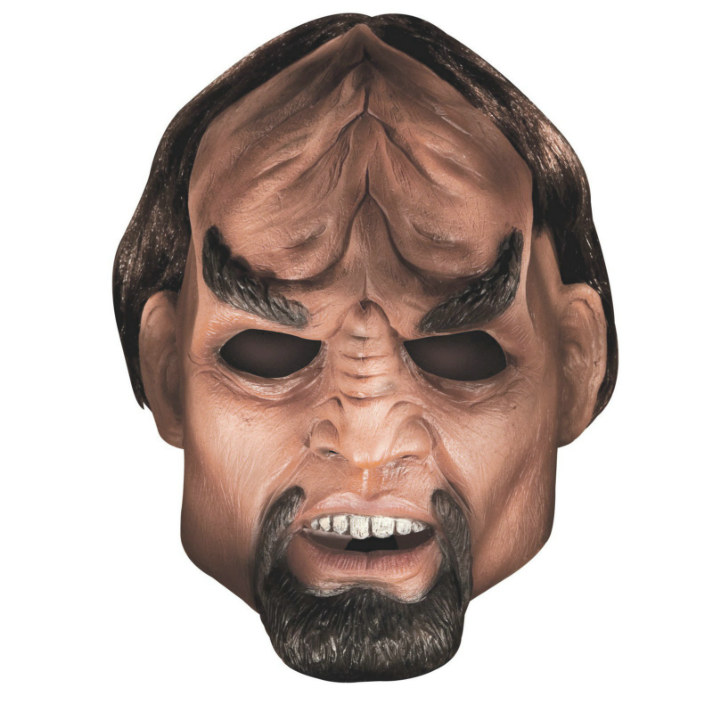 Star Trek Next Generation Worf Deluxe Latex Mask Adult