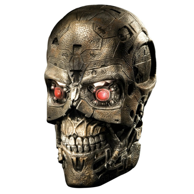 Terminator 4 T600 Overhead Latex Adult Mask