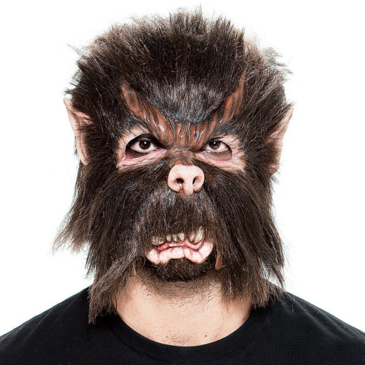 Werewolf Moving Jaw Mask