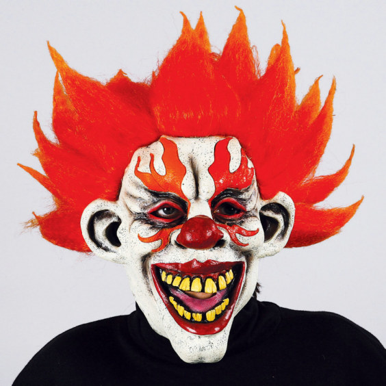 Fire Clown Mask