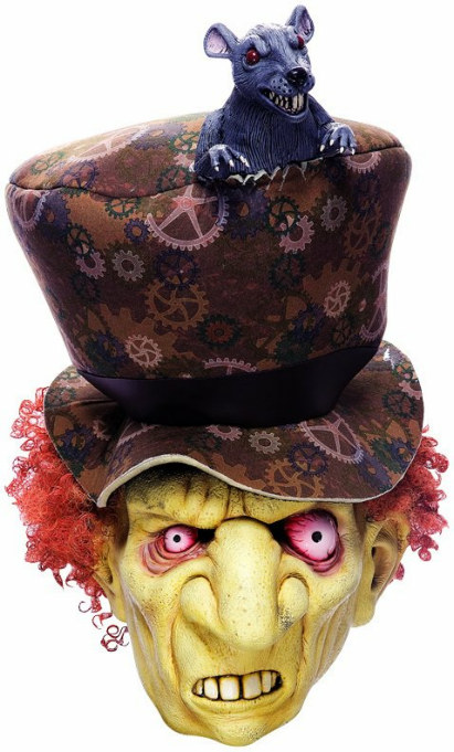 Wicked Wonderland Mad Hatter Mask Adult