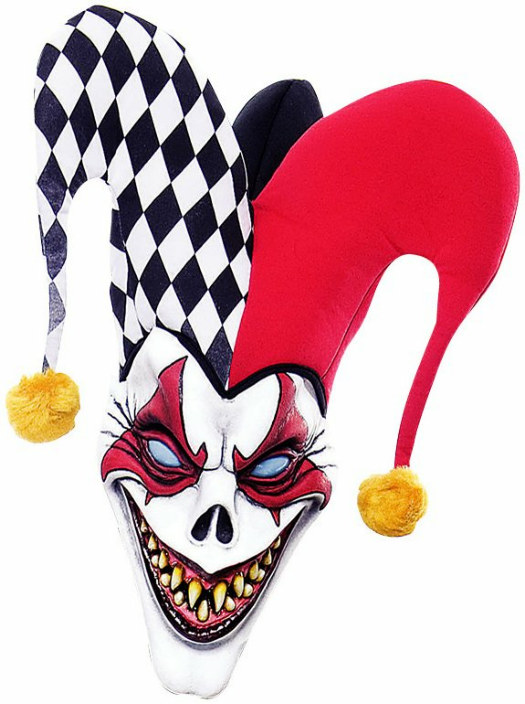 Wicked Wonderland Twisted Joker Mask Adult