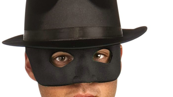 Green Hornet Adult Mask