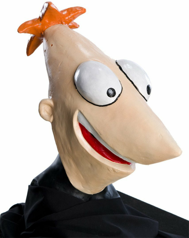 Phineas And Ferb - Phineas Adult Mask