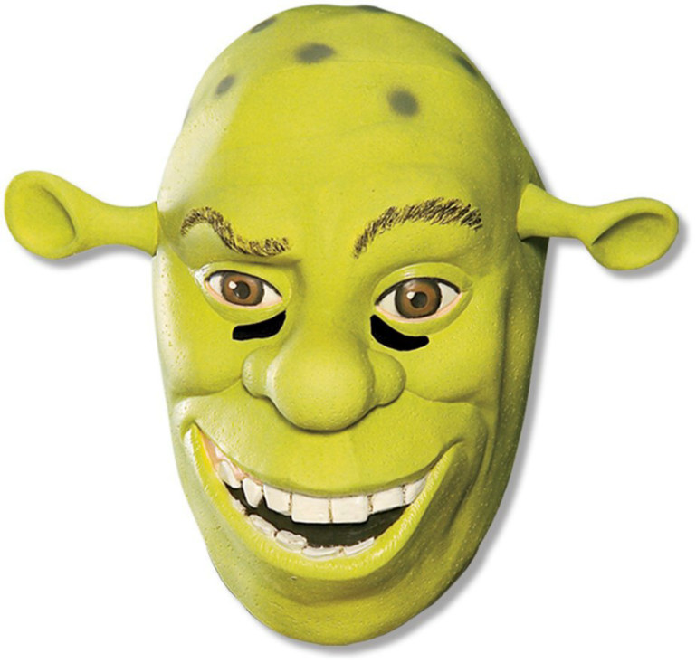 Shrek Forver After - Shrek 3/4 Vinyl Adult Mask