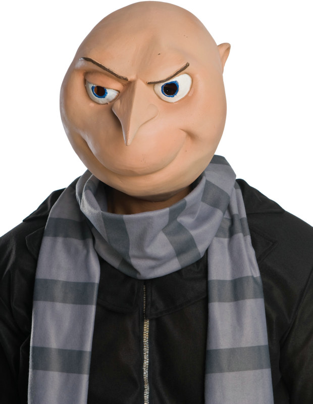 Despicable Me - Gru 3/4 Vinyl Adult Mask