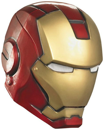 Iron Man 2 (2010) Movie - Iron Man Adult Helmet