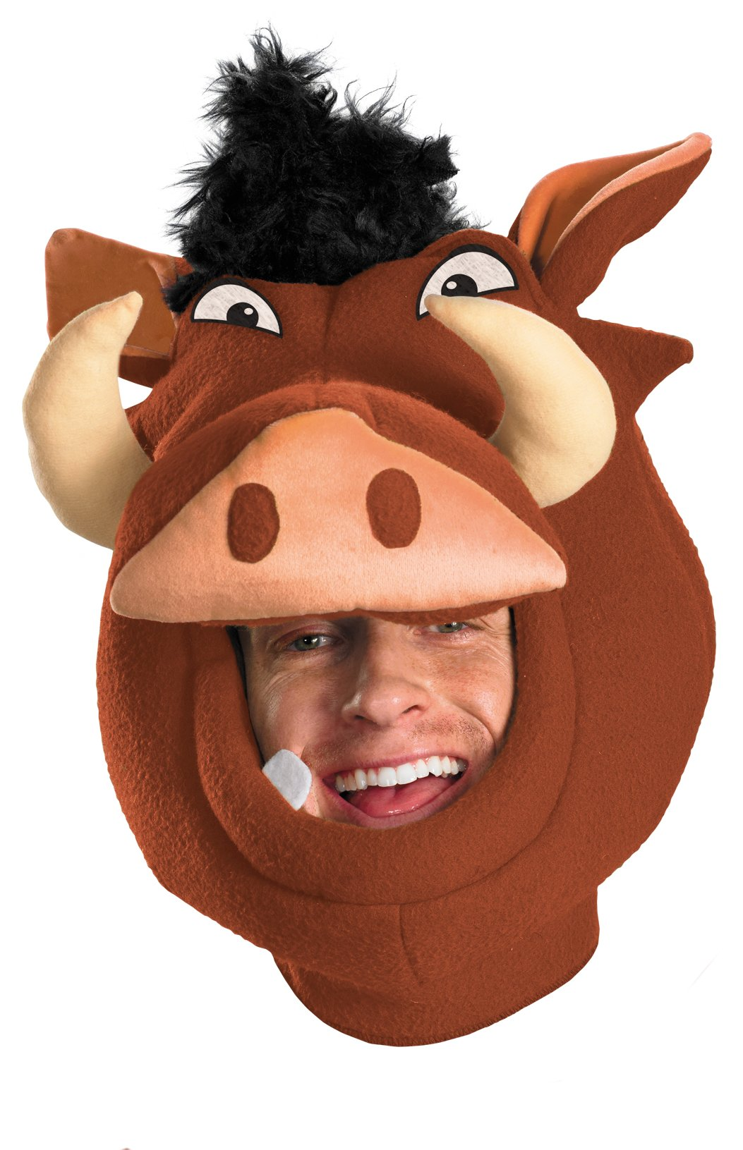 The Lion King - Pumba Headpiece (Adult)