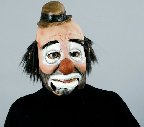 Hobo Mask With Moving Jaw Adult