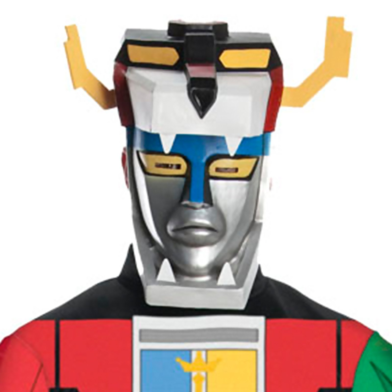 Voltron 2 Piece Mask (Adult)