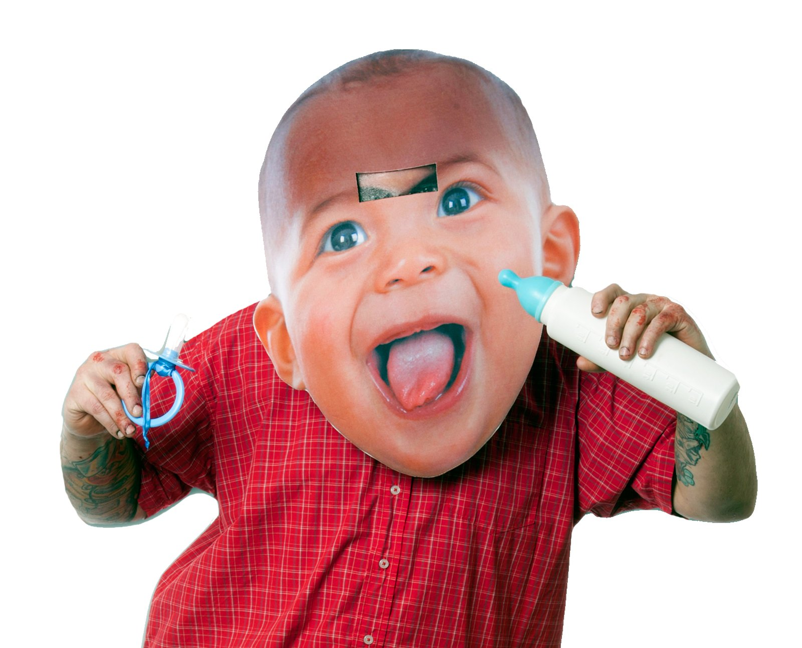 Big Head Baby Adult Mask