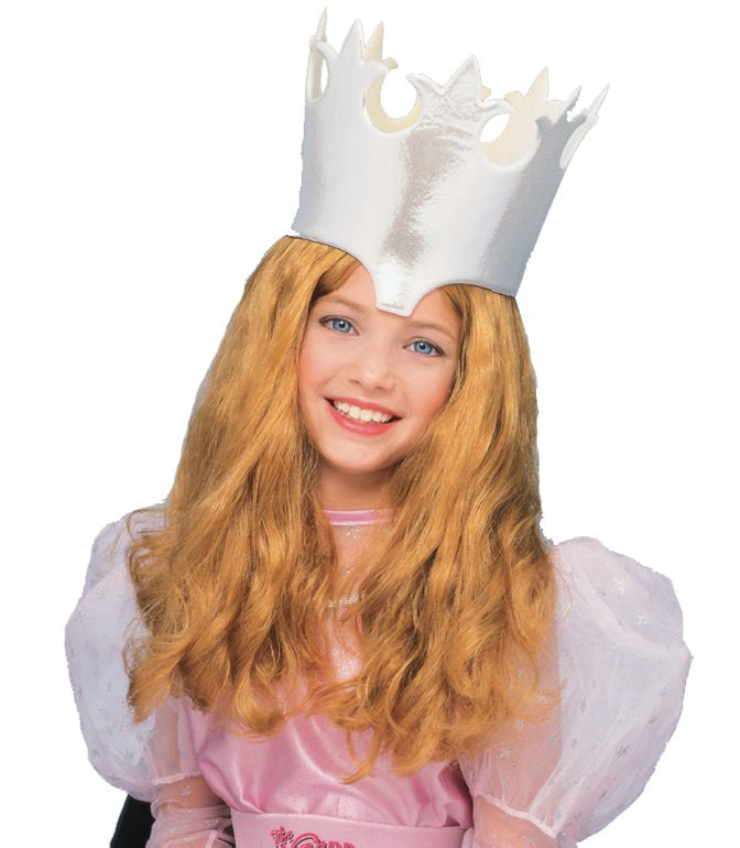 Wizard of Oz-Glinda Wig Child