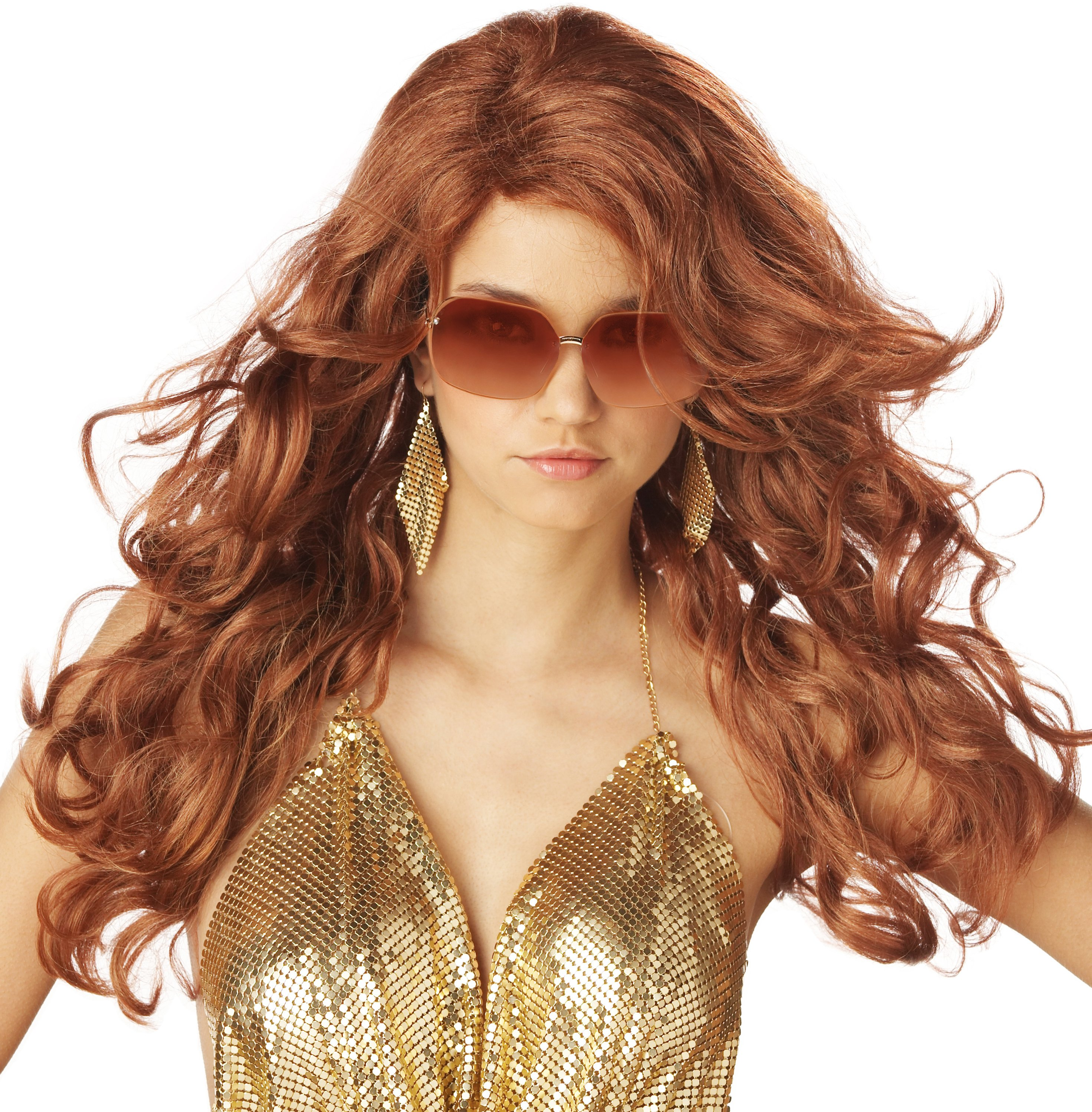 Sultry Deluxe Adult Wig (Red)