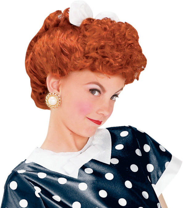 I Love Lucy Child Wig