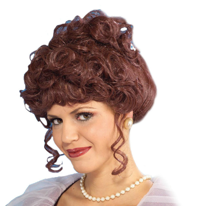 Victorian Lady Wig Adult
