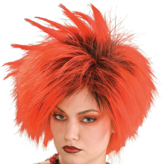 Red Punk Wig Adult