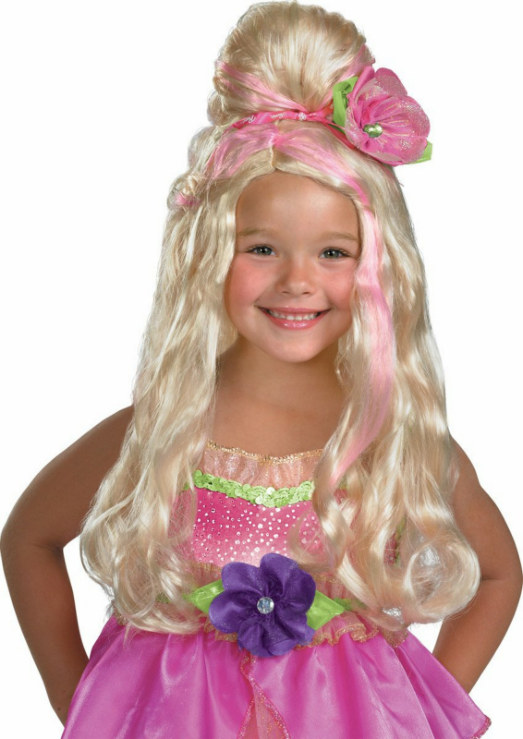 Barbie Thumbelina Child Wig