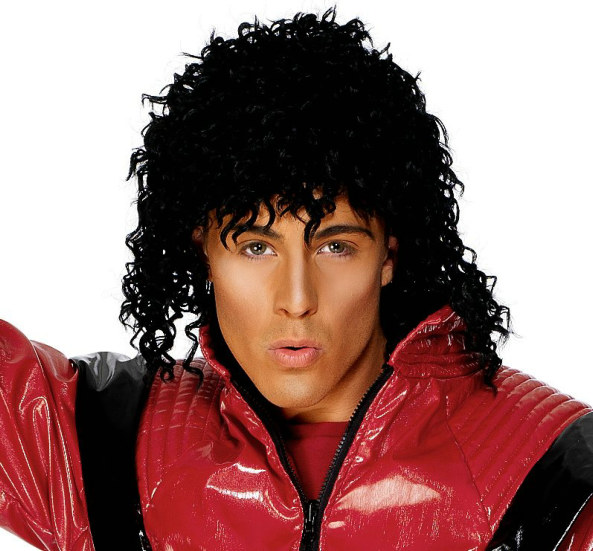 Michael Jackson Thriller Wig Adult