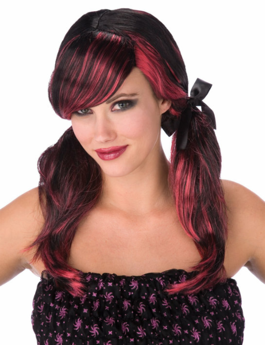 Gothic Lolita Pigtail Wig Adult