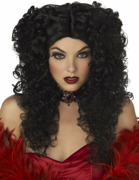 Madame Macabre Black Adult Wig