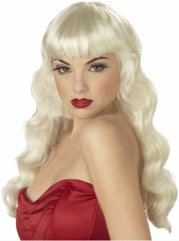 Pin UP Girl (Blonde) Adult Wig