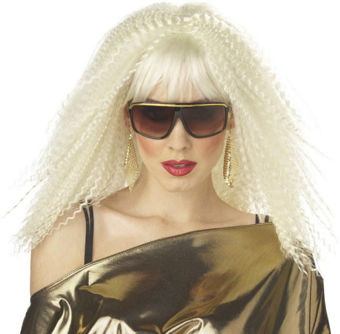 Crimptastic (Platinum Blonde) Adult Wig