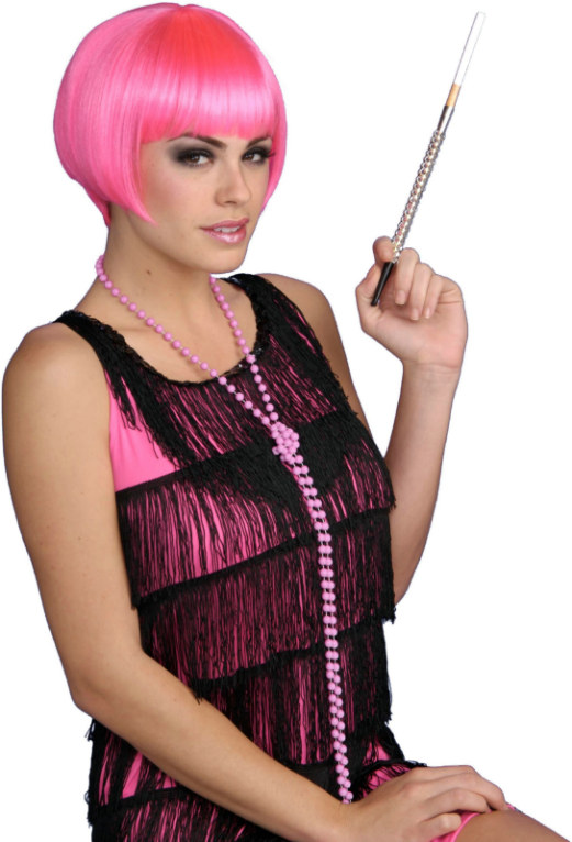 Charleston Chic (Pink) Adult Wig