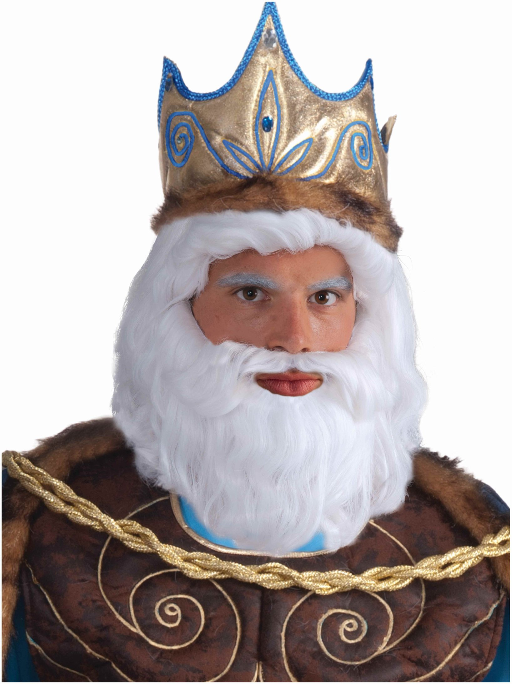 King Neptune Wig Adult