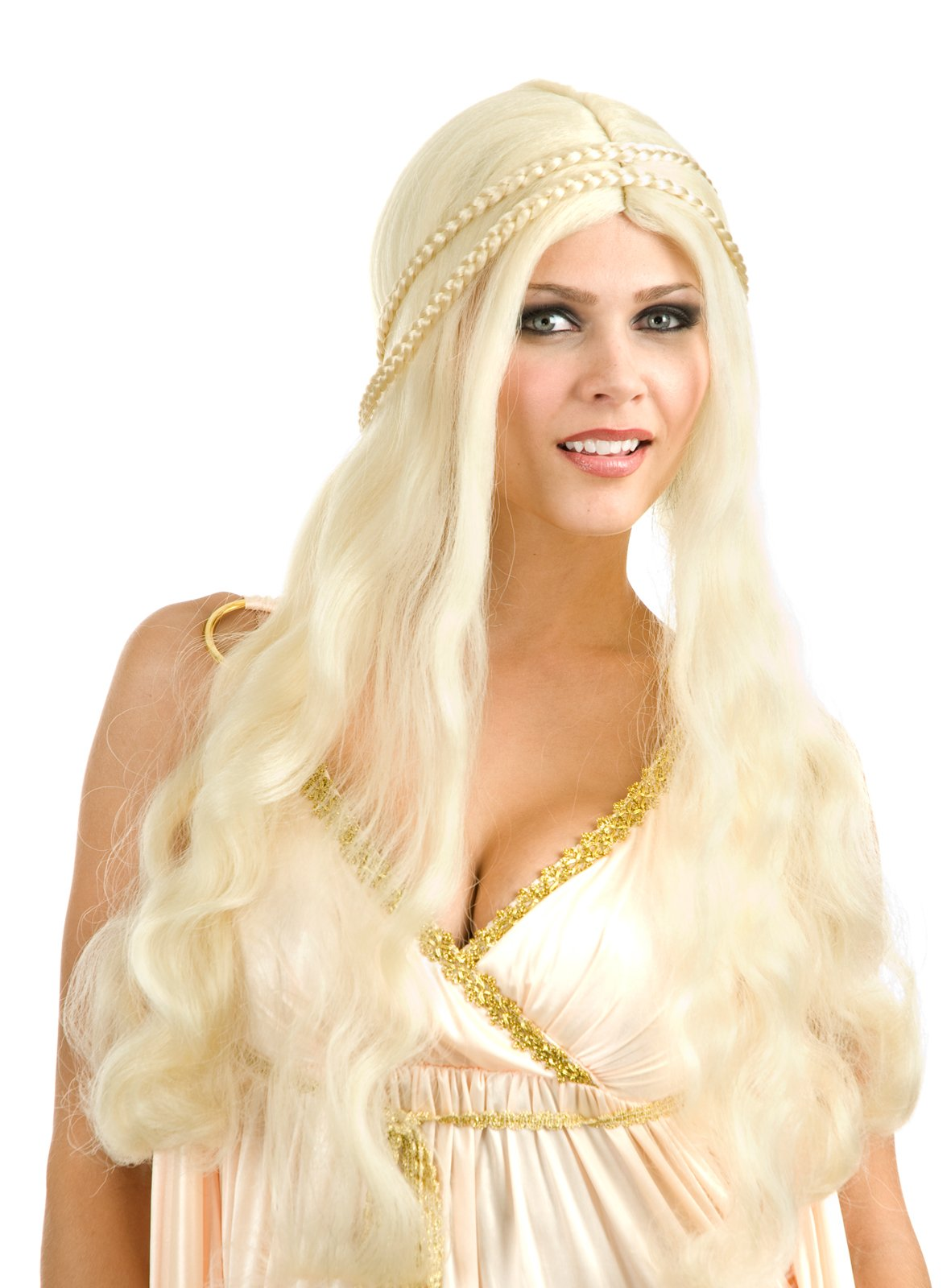 Blonde Flower Child Wig (Adult)