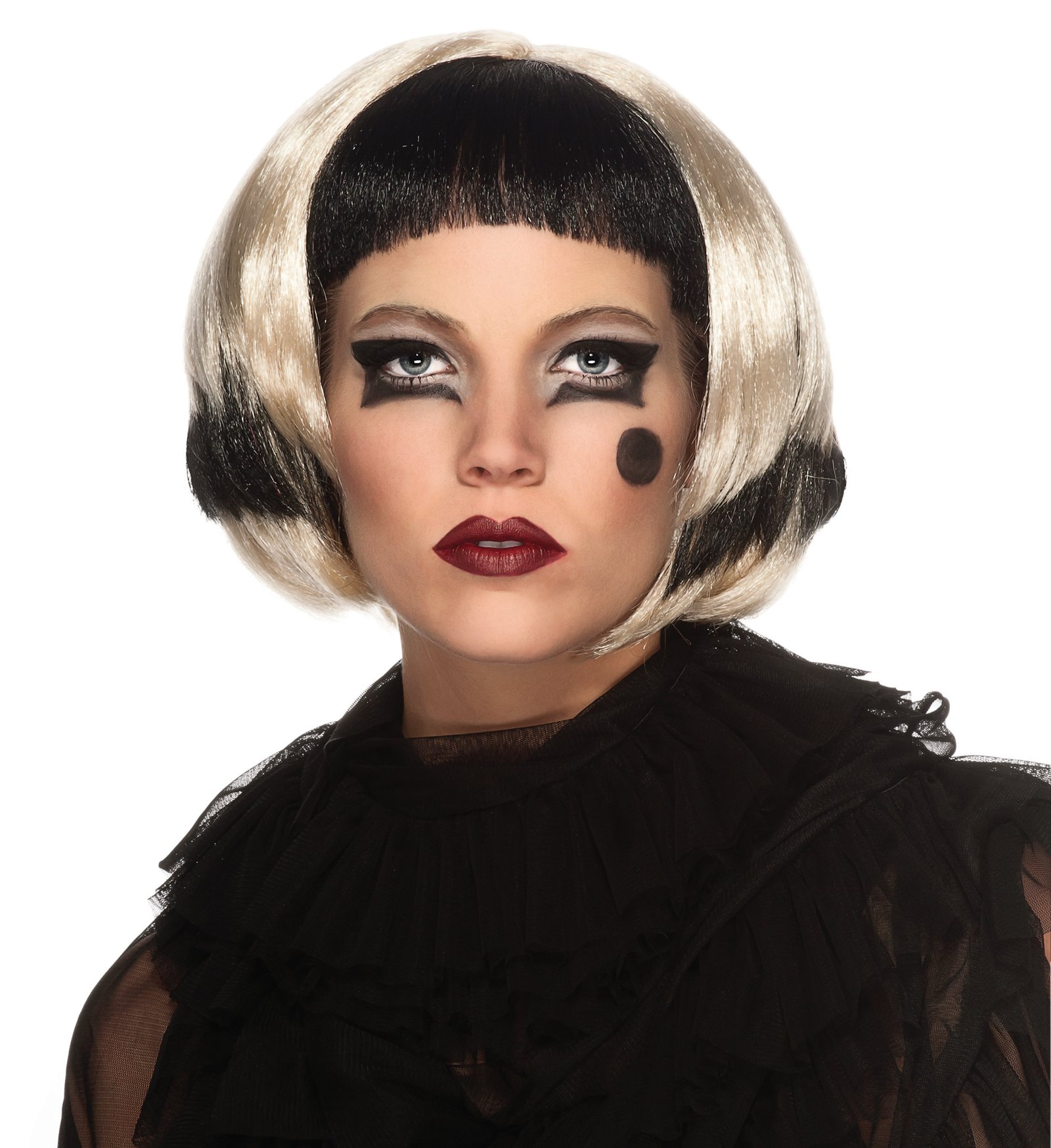 Lady Gaga Black/Blonde Wig (Adult)