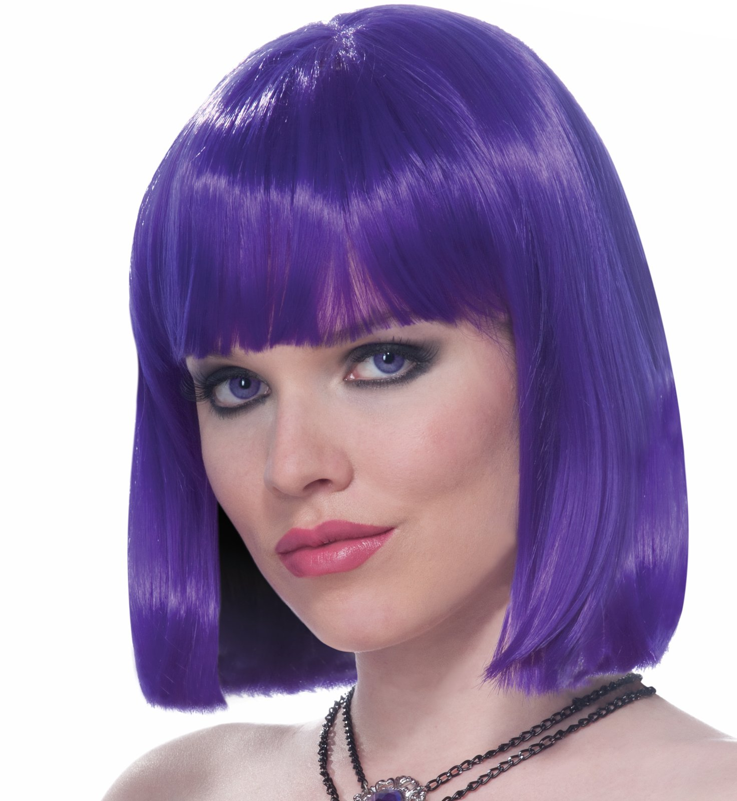 Vibe (Purple) Adult Wig