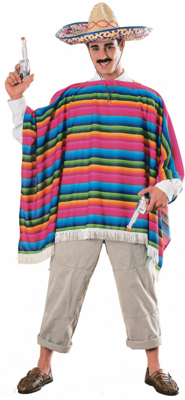 Mexican Serape Adult Costume