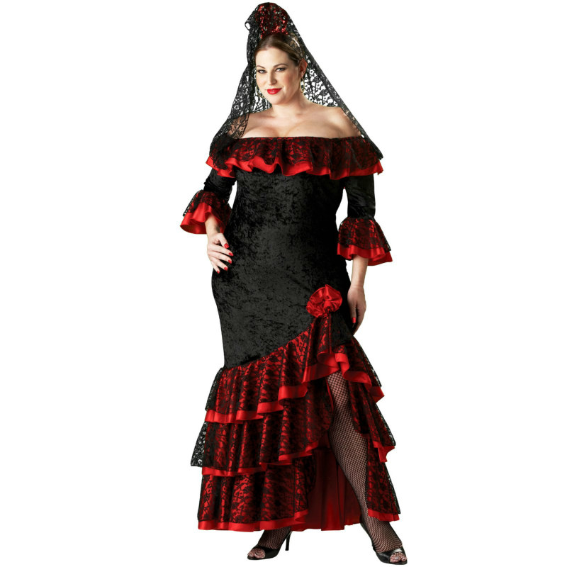 Senorita Plus Elite Collection Adult Costume
