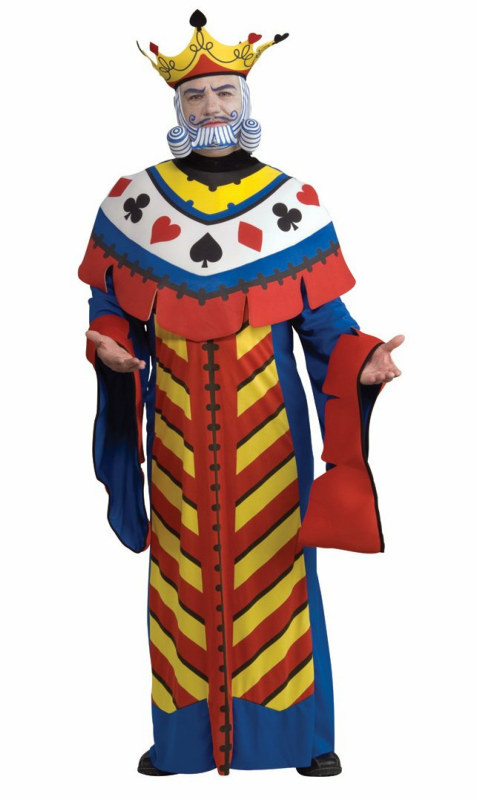 Playing Card King Adult Costume