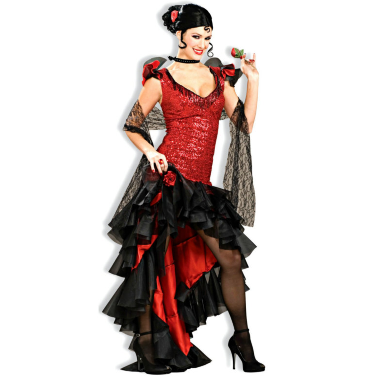 Spanish Dancer Designer Collection Adult Costume