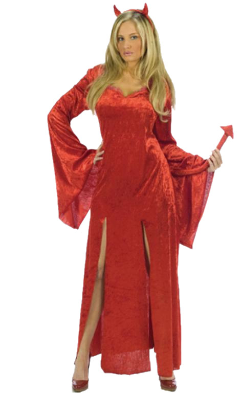 Sultry Devil Adult Costume