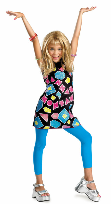 Hannah Montana Shapes Dress Classic Child Costume