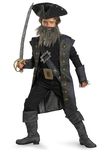 Deluxe Kids Blackbeard Costume