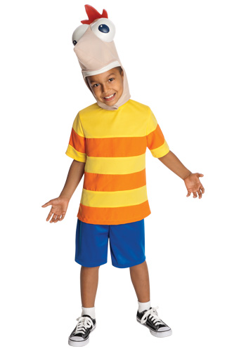 Deluxe Child Phineas Costume