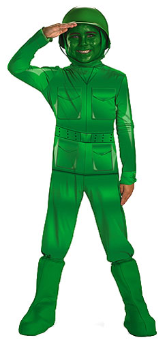 Kids Toy Story Army Man Costume