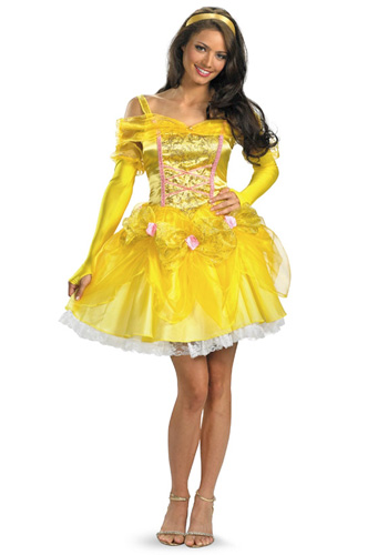 Sexy Princess Belle Costume